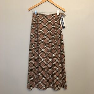 Pendleton Wool Plaid Skirt